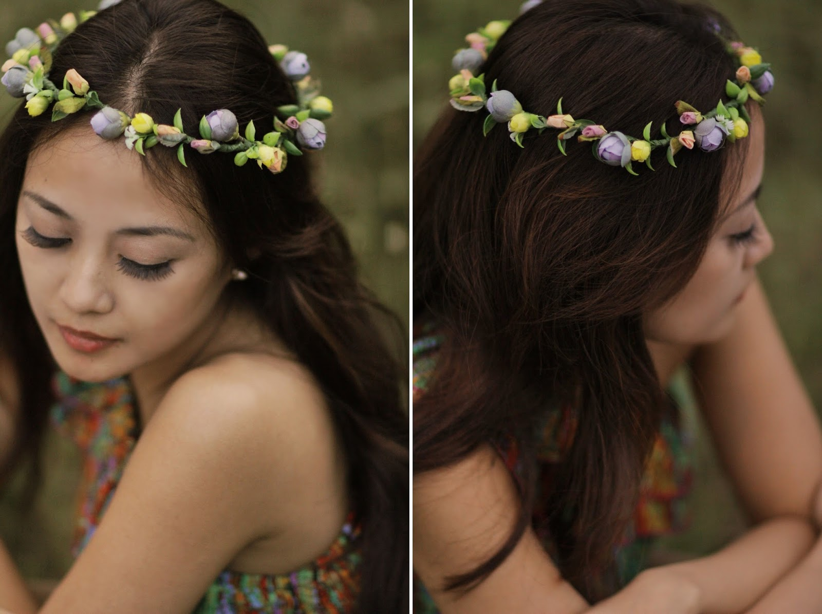 flower, head, wreath, headdress, summertrends, hair, accessories