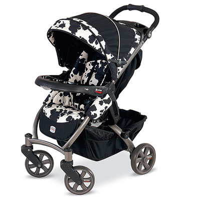 The Stroller Is Compatible With BRITAX CHAPERONE Infant Car Seat And Other Major Brands When Used Adapter Strap