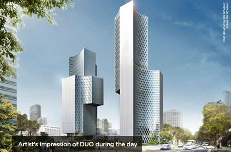 Duo Residences in Bugis - Over 85% sold during the launch !