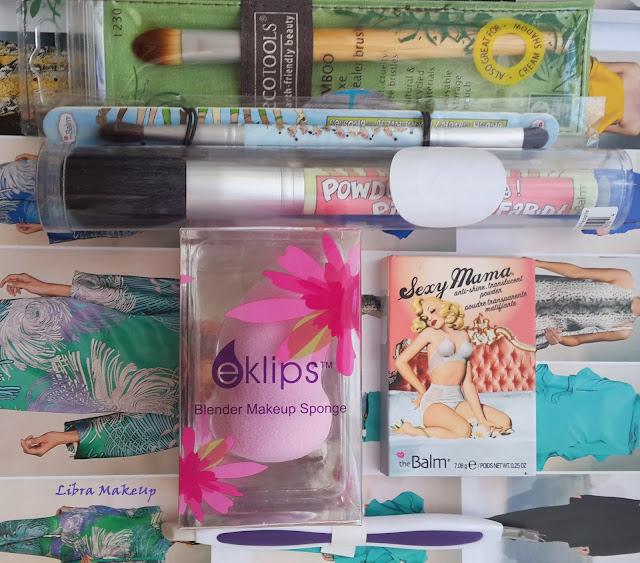 concealer brush, kapatıcı fırçası, the balm powder, ecotools concealer brush, ecotools fırça