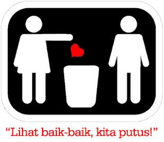 Gambar Patah Hati Diputusin pacar