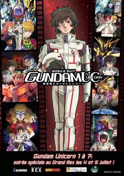 Mobile Suit Gundam Unicorn, Le Grand Rex, Actu Ciné, Cinéma,