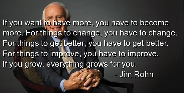Jim Rohn - Entepreneur, Author and Motivational Speaker