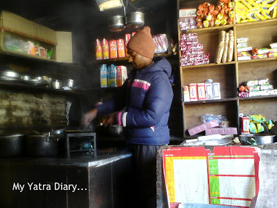 A local dhaba in Badrinath town