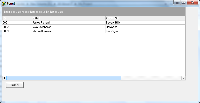 Get Column Value from CxGrid Multiselect (DevExpress