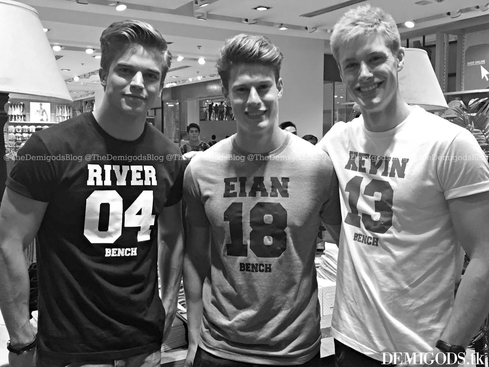 Demigods the bench meet and greet with river viiperi eian scully it was about a month ago when demigods river viiperi eian scully and kevin hubsmith were flown in by retail giant bench in the philippines kristyandbryce Images