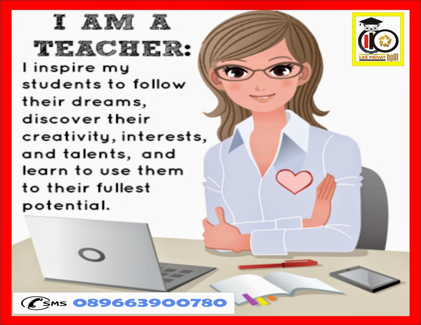 guru privat profesional ,ramah ,berpengalaman untuk sd ,smp ,sma
