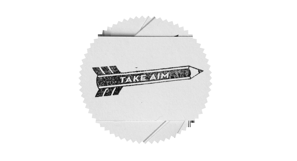 Take Aim - graphic design blog