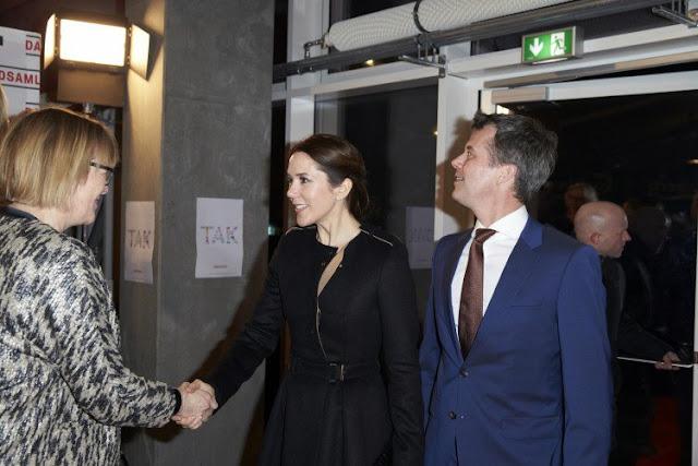 Crown Princess Mary at Danmarks Indsamling 2015