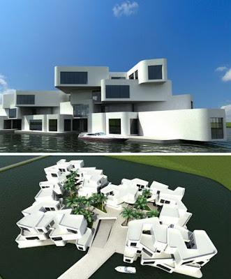 The Citadel: Apartemen Mengapung - Netherlands