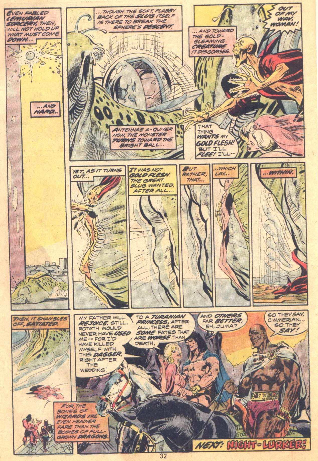 Conan the Barbarian (1970) Issue #37 #49 - English 21