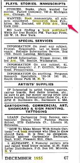 Climbing My Family Tree: Greenwich Book Publishers ad Popular Mechanics 1955 p 67