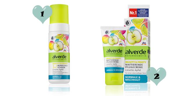 Preview - alverde Limette Apfel Gesichtspflege - Oktober 2013
