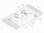 Samsung three-sided display smartphone
