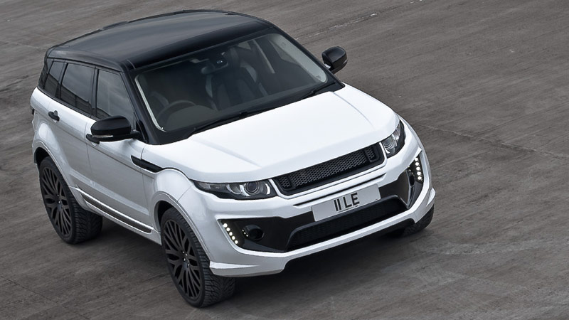 modern cars the new fuji white range rover evoque with. Black Bedroom Furniture Sets. Home Design Ideas