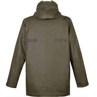 musterbrand halo deck crew jacket