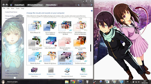 Theme Windows 7 Noragami Download By Bashkara 2