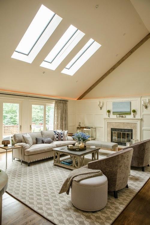 Tạo ánh sáng tự nhiên cho ngôi nhà