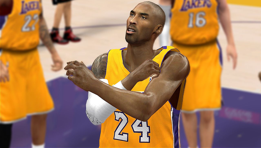 Kobe Bryant Cyberface Patch