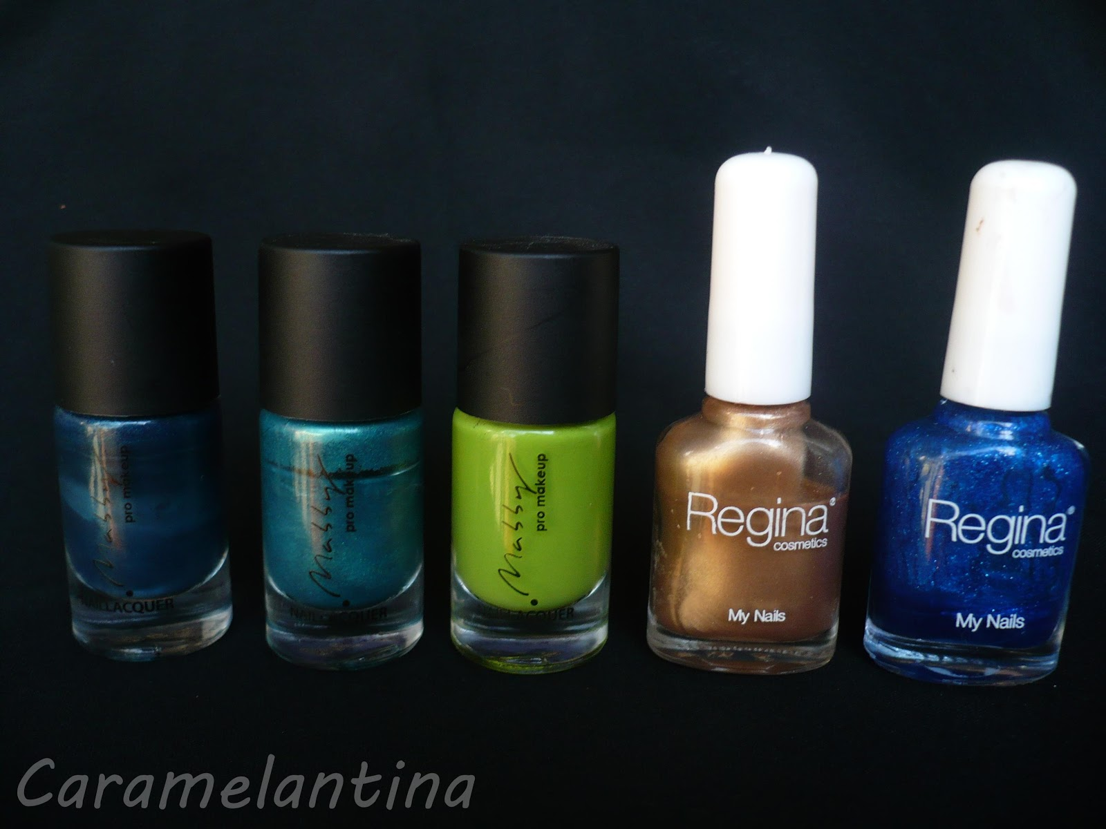 Mabby Ultra Green, Maby Jelsea, Mabby Apple, Regina Day, Regina Blue Blue, opiniones, swatch review