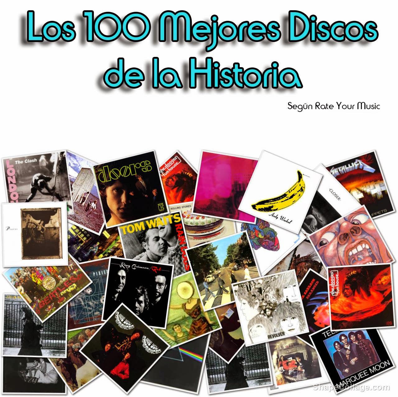 100 mejores albumes de la historia: