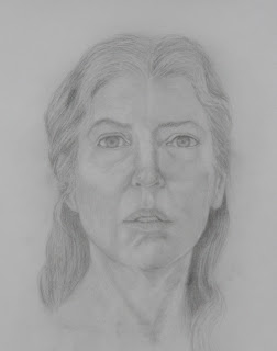 Portrait Graphite Sketch