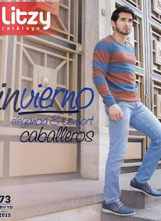 Catalogo virtual  online zapato litzy  caballeros invierno 2015