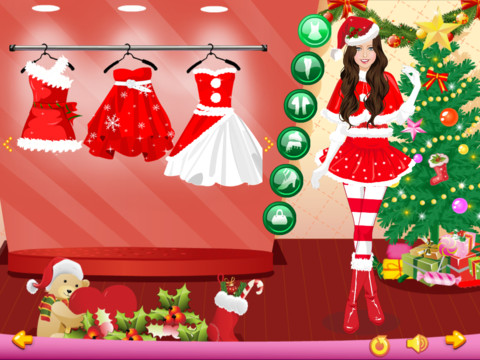 Dress up christmas girls by xu ming dress up a christmas girl five