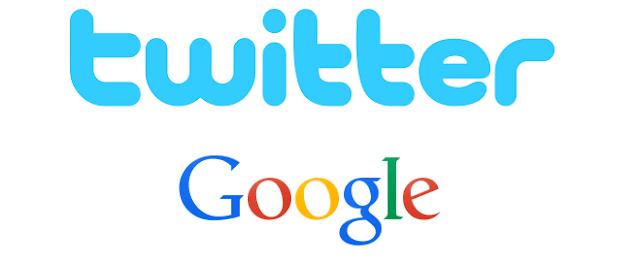 twitter bekerja sama dengan Google