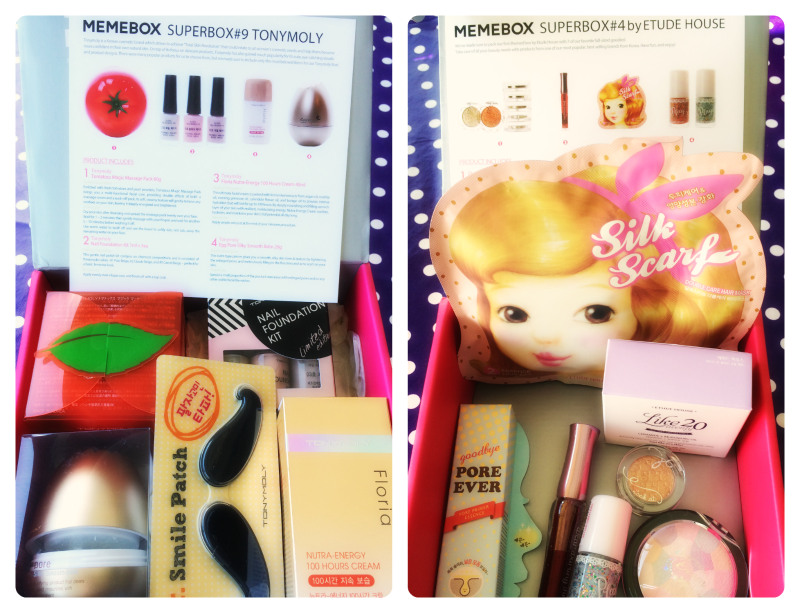 Etude House superbox Tonymoly superbox by memebox