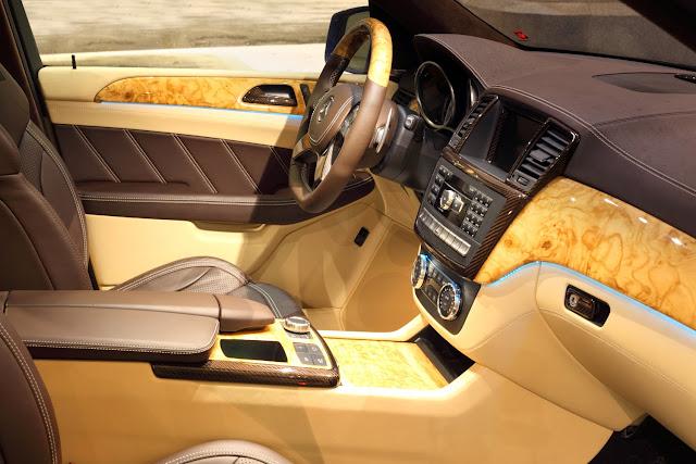 mercedes w166 topcar interior