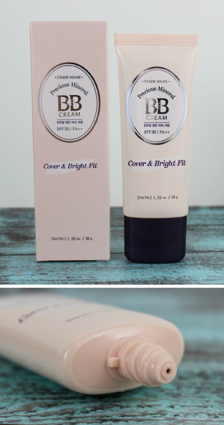 ETUDE HOUSE PRECIOUS MINERAL COVER & BRIGHT FIT BB CREAM new 2015