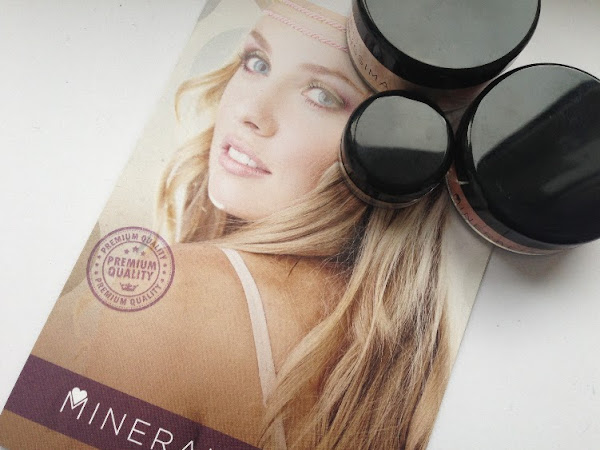 Mineralissima Chiffron Finish Tan, Brazen Blusher & Foundation 2.75