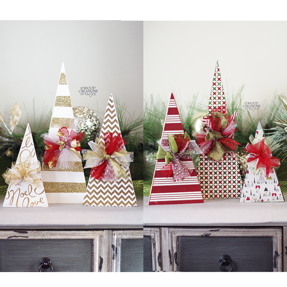 christmas crafts are here - Wooden Christmas Crafts