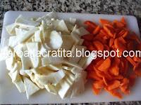 Ghiveci de legume preparare reteta mancare de post
