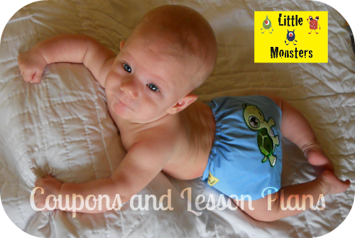 Coupons And Lesson Plans Little Monsters Back Monsters Cloth Diaper