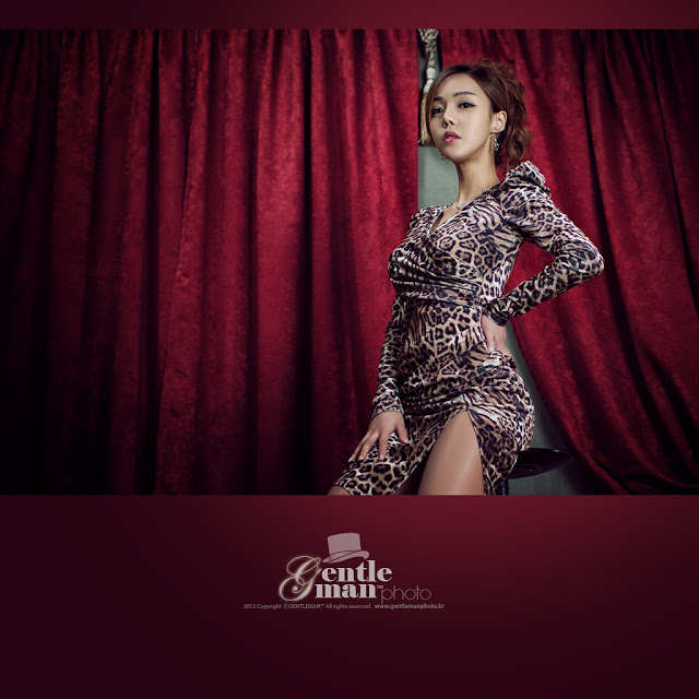 4 Leopard Girl - Seo Jin Ah-Very cute asian girl - girlcute4u.blogspot.com