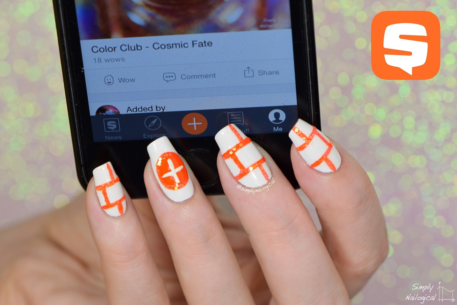 Simply Nailogical: Nail art inspired by the Snupps app - never buy ...