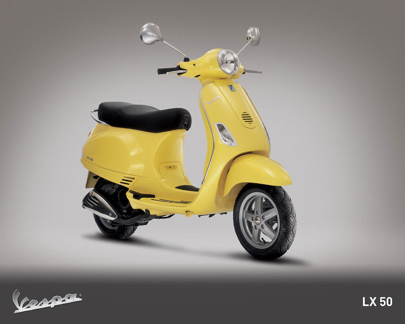 2009 Vespa LX50 US and Canada Editions