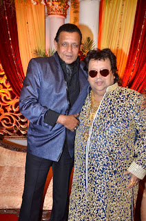 Mithun at Bappa Lahiri & Taneesha Verma Marriage Reception