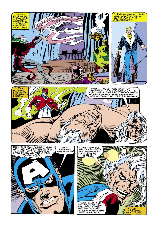 Captain America (1968) Issue #305 #233 - English 23