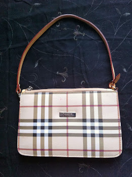 lovely BURBERY LONDON bag