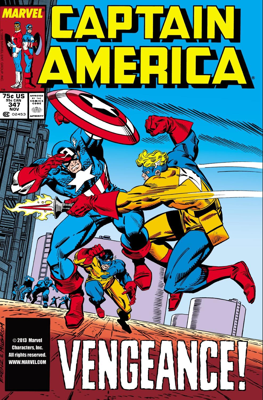 Captain America (1968) Issue #347 #277 - English 1
