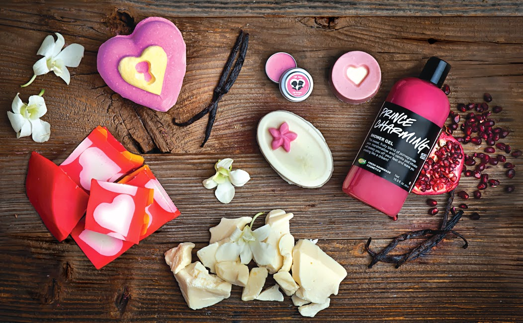 Lush Cosmetics' Valentine's Day collection