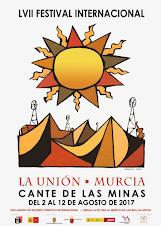 CONCURSOS CANTE, GUITARRA, BAILE, INST FLAMENCO CANTE DE LAS MINAS LA UNIÓN 2 AL 12 AGOSTO 17