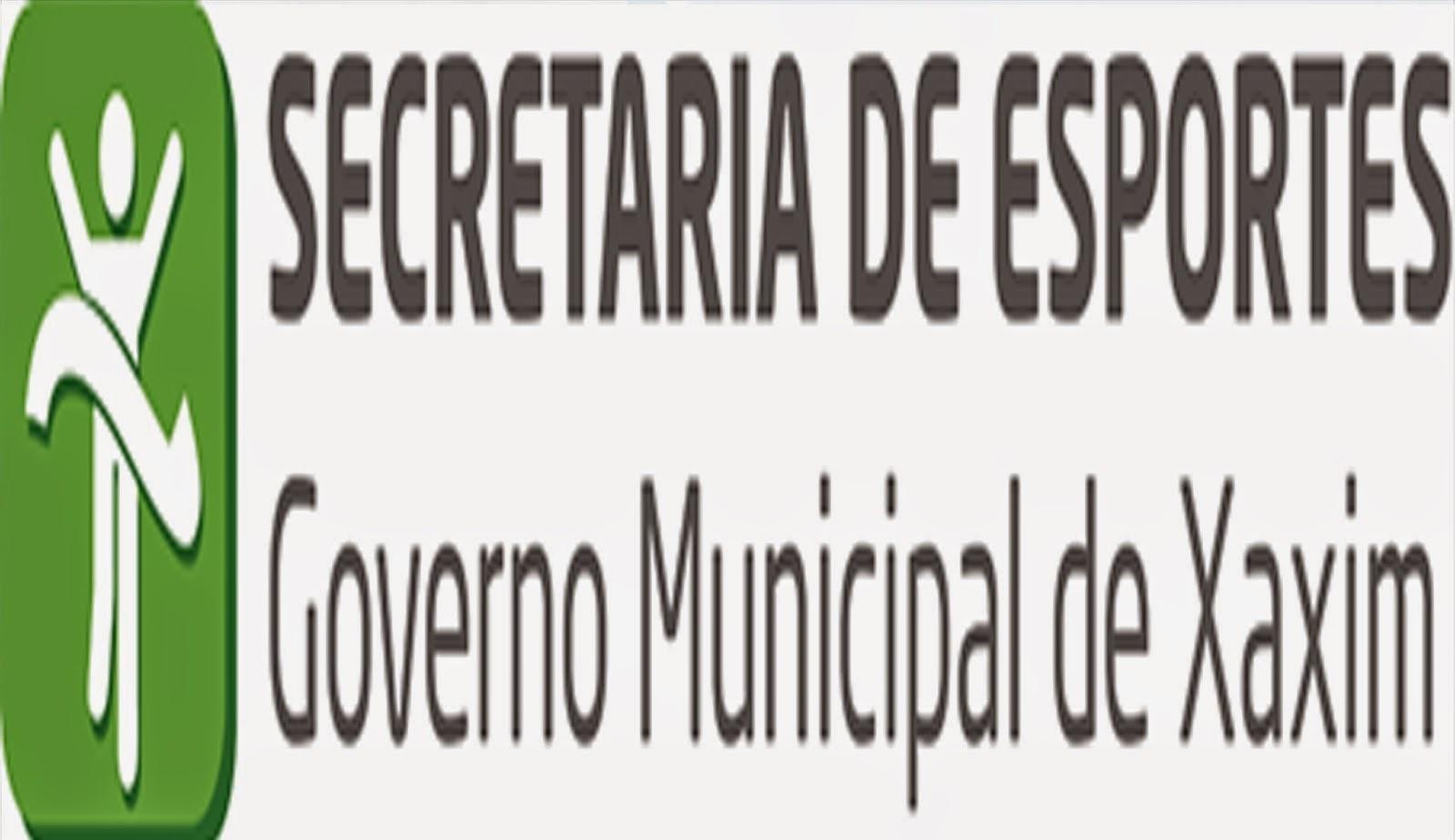 SEC. ESPORTES XAXIM