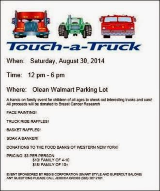 8-30 Touch A Truck Olean