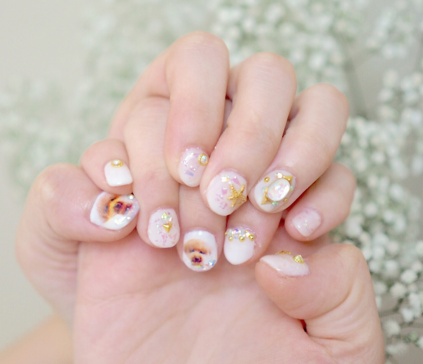 Japanese Nail Art Experience @Enchanted Siblings | Chanwon.com ...
