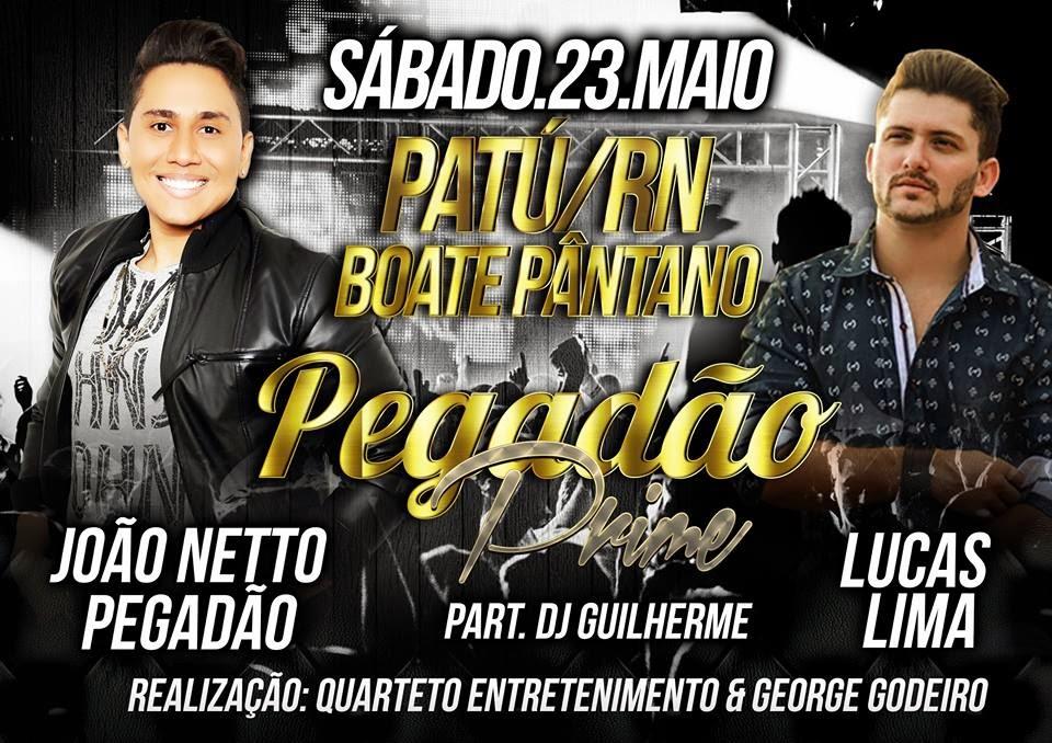 PEGADÃO PRIME NA BOATE PÂNTANO EM PATU!