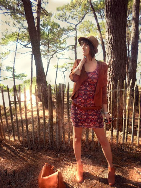 Fall-outfit-burgundy-camel-boho
